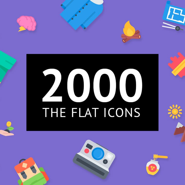 The Flat Icons 2000 by lastpark