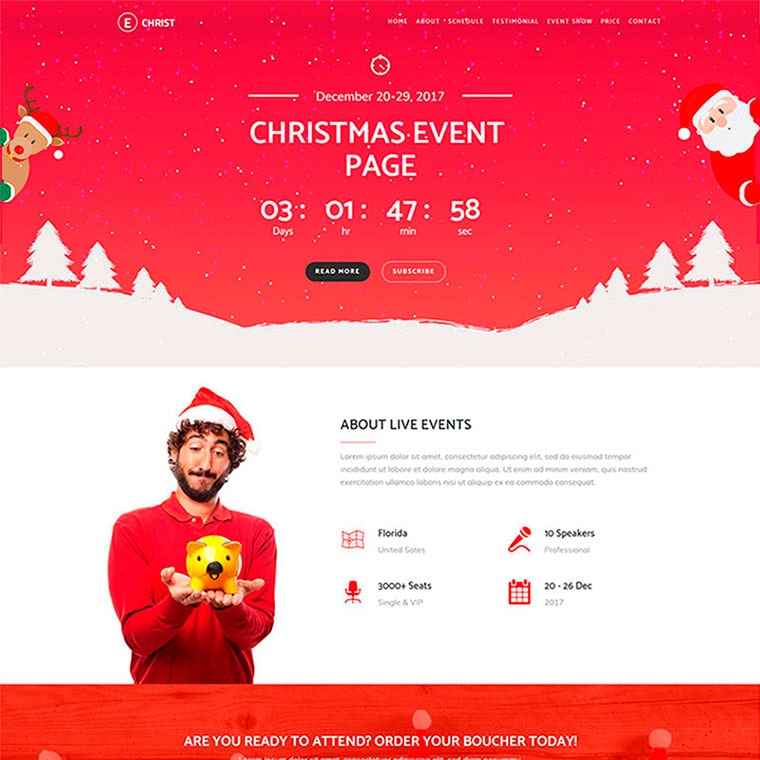 Echrist - Christmas Event by Hashtheme