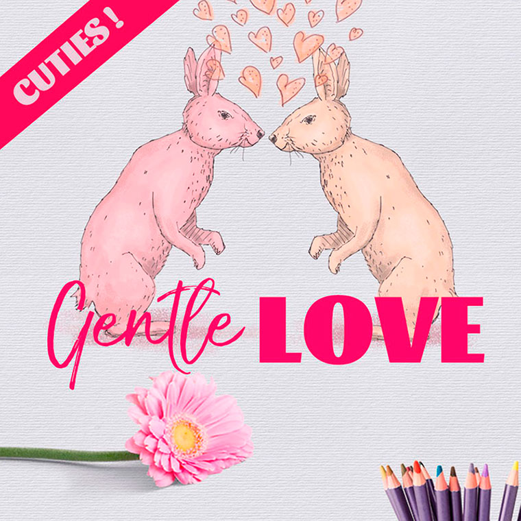 Gentle Love - Card Creator Day by Zzorna