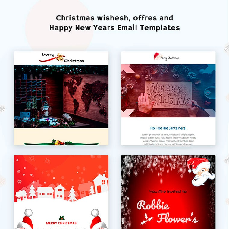 Merry Xmas Responsive Newsletter Template by Spacingtech