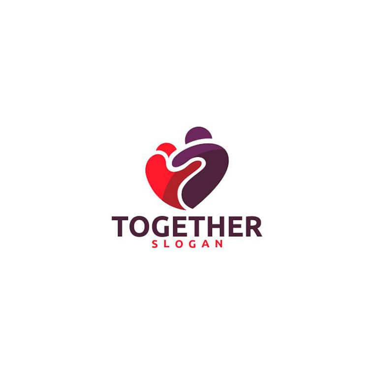 Together Logo Template by JonniDepp