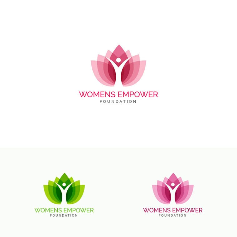 Women's Empower Logo Template by Rubel