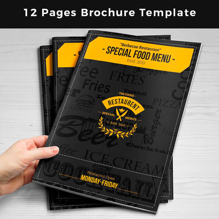Special-Food-Menu-Brochure-Pages Corporate Identity Template by zaas