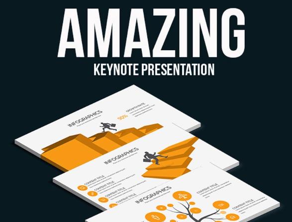 Amazing Keynote Presentation Keynote Template