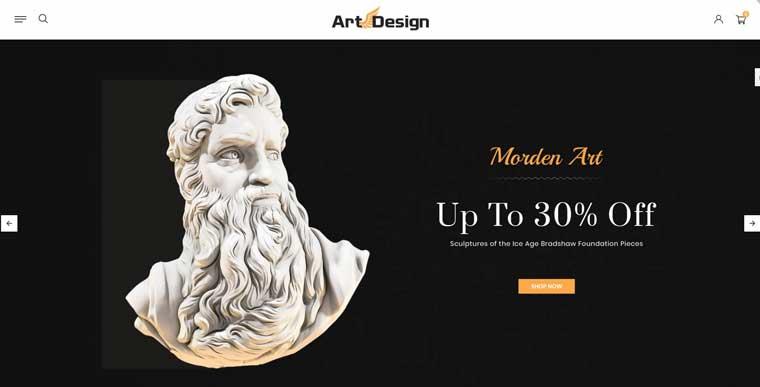 Art Design OpenCart Template