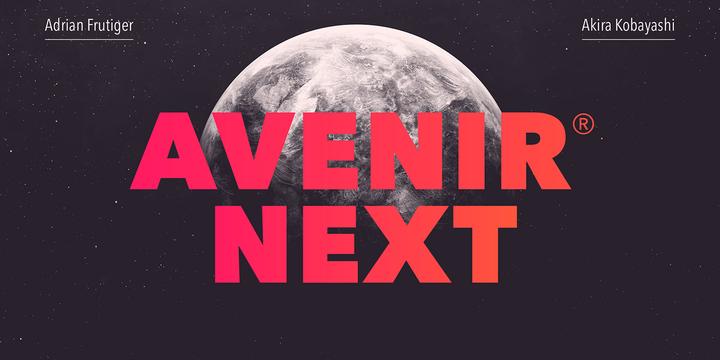 Avenir Next Pro.