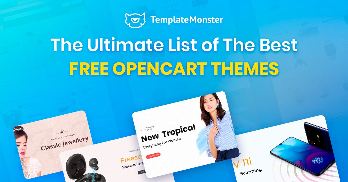 The Best Free OpenCart Themes.