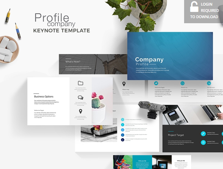 Company Profile – Free Keynote Template