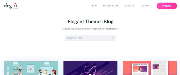 Elegant Themes Blog.
