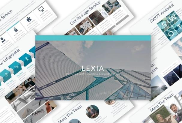 Lexia - Professional Keynote Template