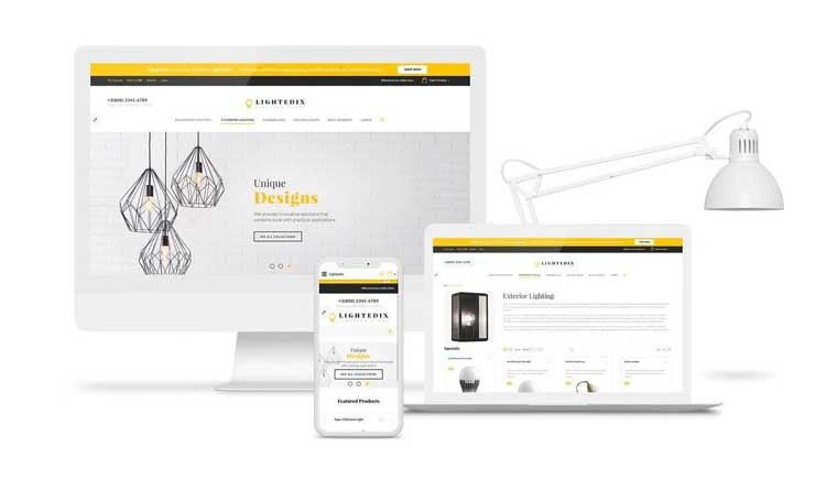 Lightdix - Lighting & Electricity Multipage Clean Free OpenCart Template