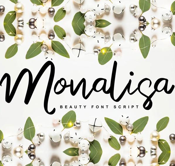 Monalisa Beauty Script Handwritten Font