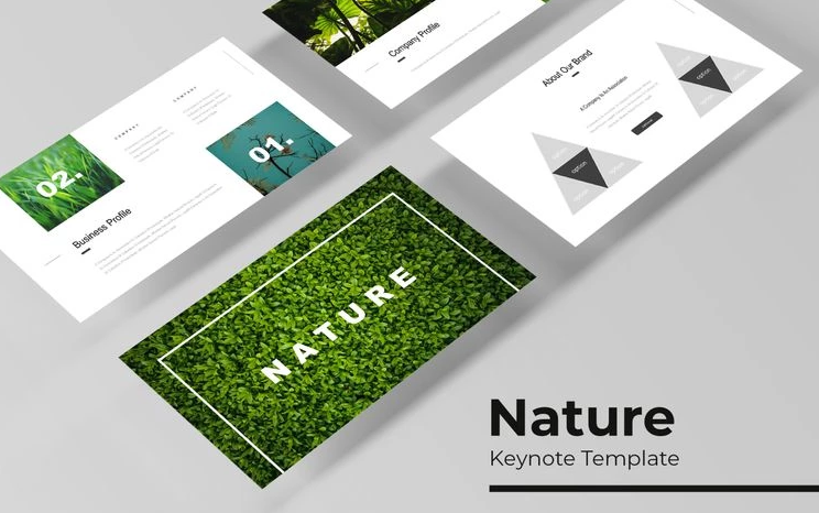 Nature Keynote Template