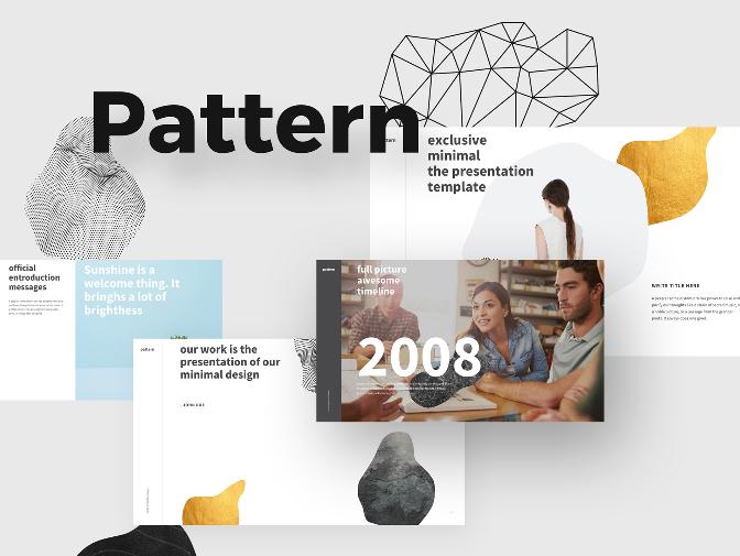 Pattern – Free Modern Keynote Template