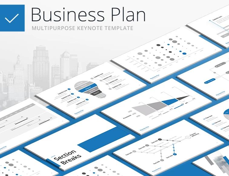 Business Plan - Multipurpose Keynote Template
