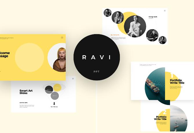 Ravi – Free Powerpoint & Keynote Template