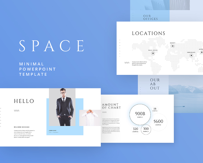 Space – Free Powerpoint & Keynote Template