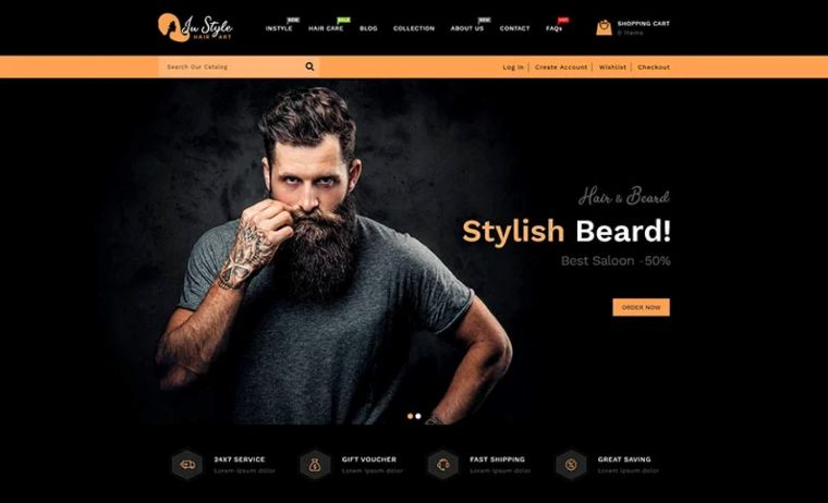 Instyle website template