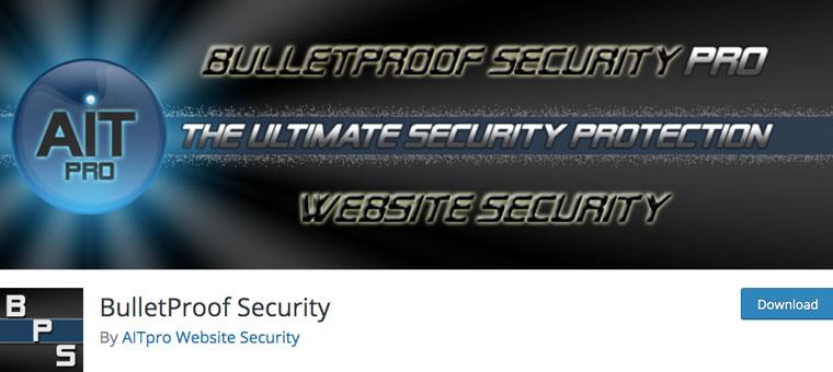 WordPress plugin BulletProof Security.