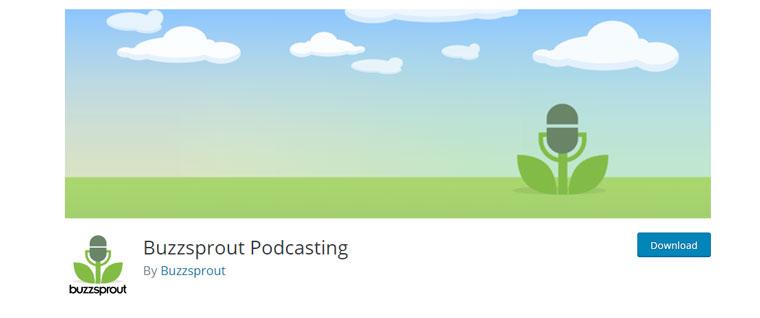 WordPress plugin Buzzsprout Podcasting.