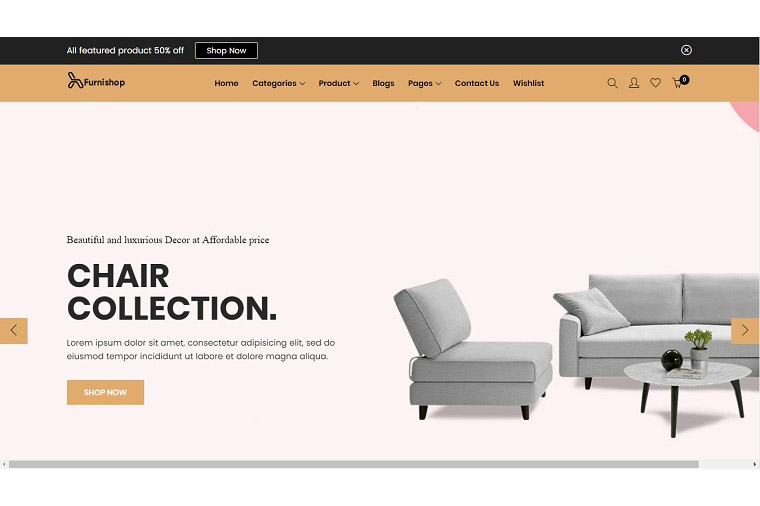 Furniture - The Interior Shopify Theme.