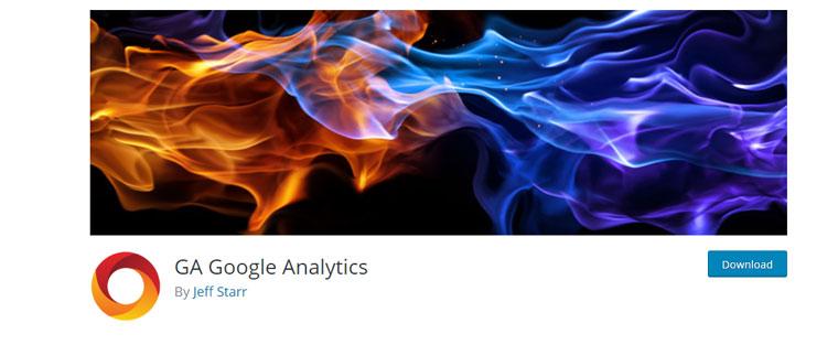 WordPress plugin GA Google Analytics.