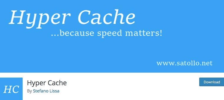 Hyper Cache plugin.