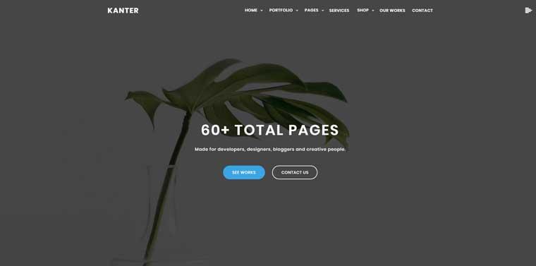 Kanter – Corporate Agency Elementor Portfolio WordPress Theme