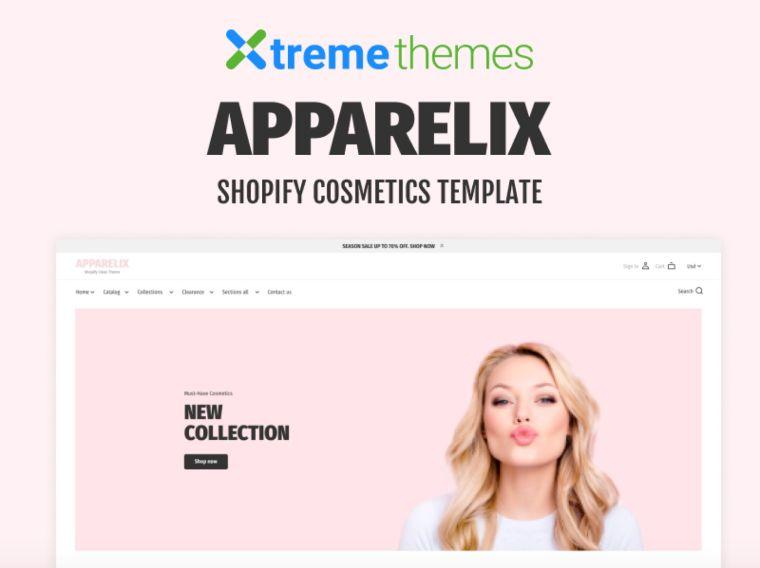korean cosmetics website template