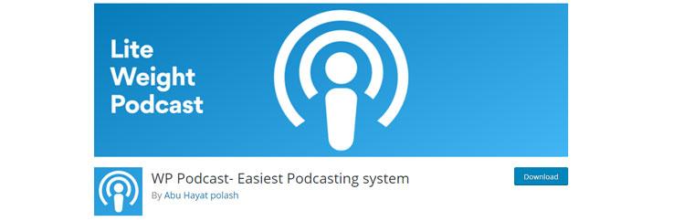 WordPress plugin WP Podcast.