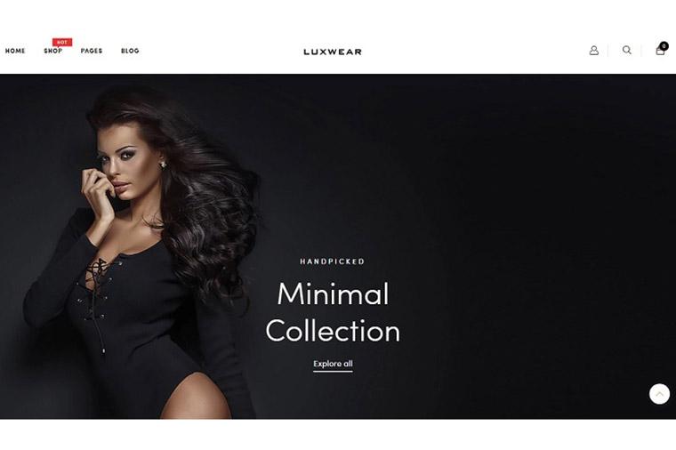 LUXWEAR - Multipurpose Swimwear & Lingerie Shopify Theme.