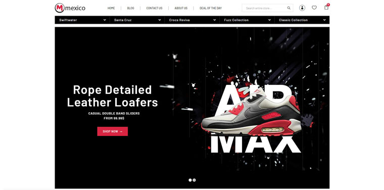 Maxico - The Shoes& Fashion Premium Shopify Theme.