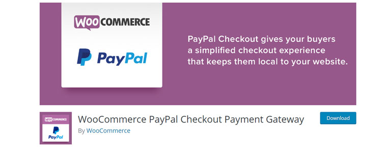 WooCommerce PayPal Checkout Payment Gateway.