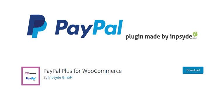 WooCommerce plugin PayPal Plus.