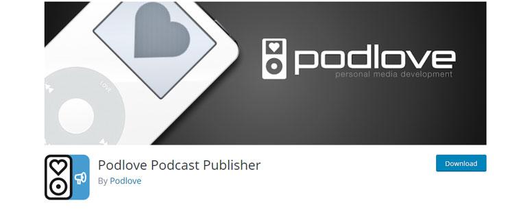 WordPress plugin Podlove Podcast Publisher.