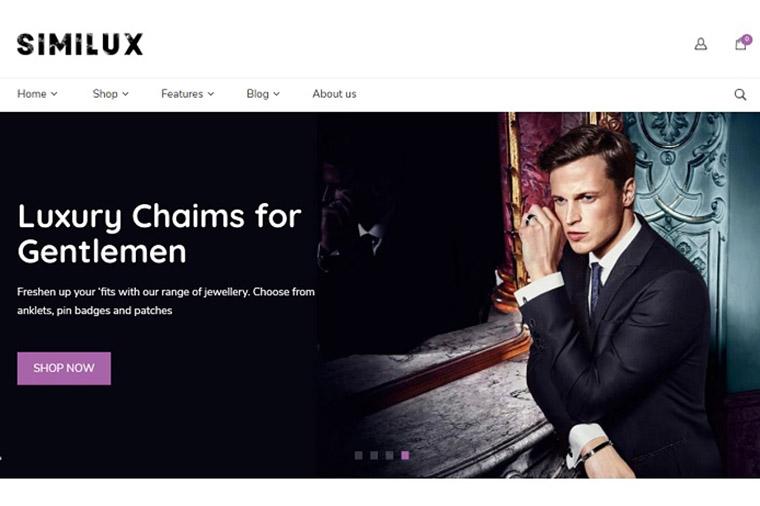 Similux | Minimal Shopify Theme.