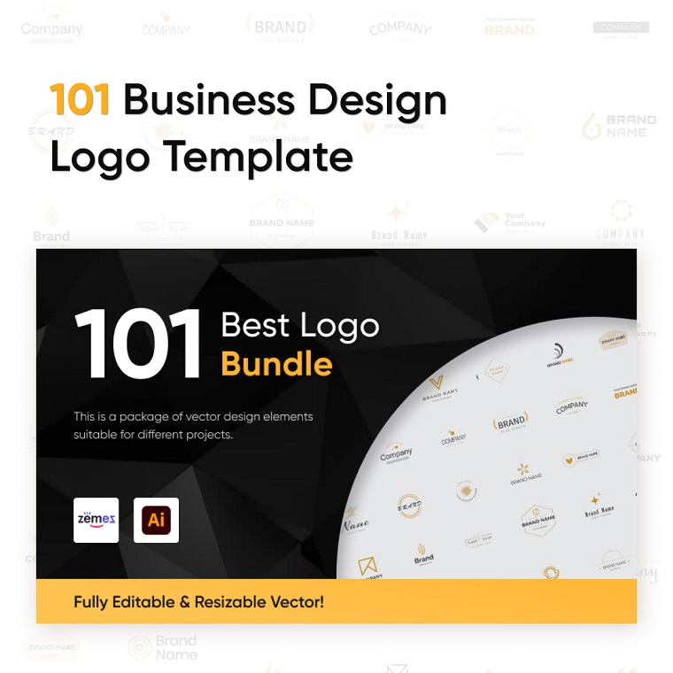 101 Business Design Logo Template.