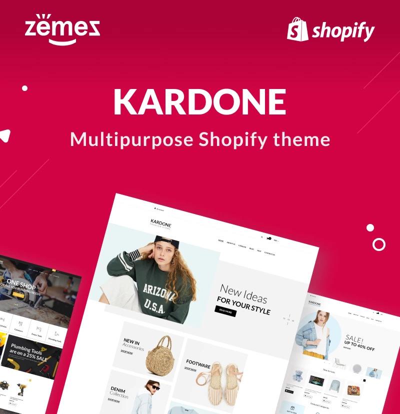 KarDone - Shopify Multipurpose Designs Theme