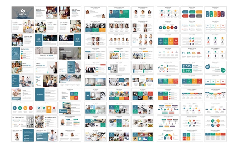 Business Pack PowerPoint Template.