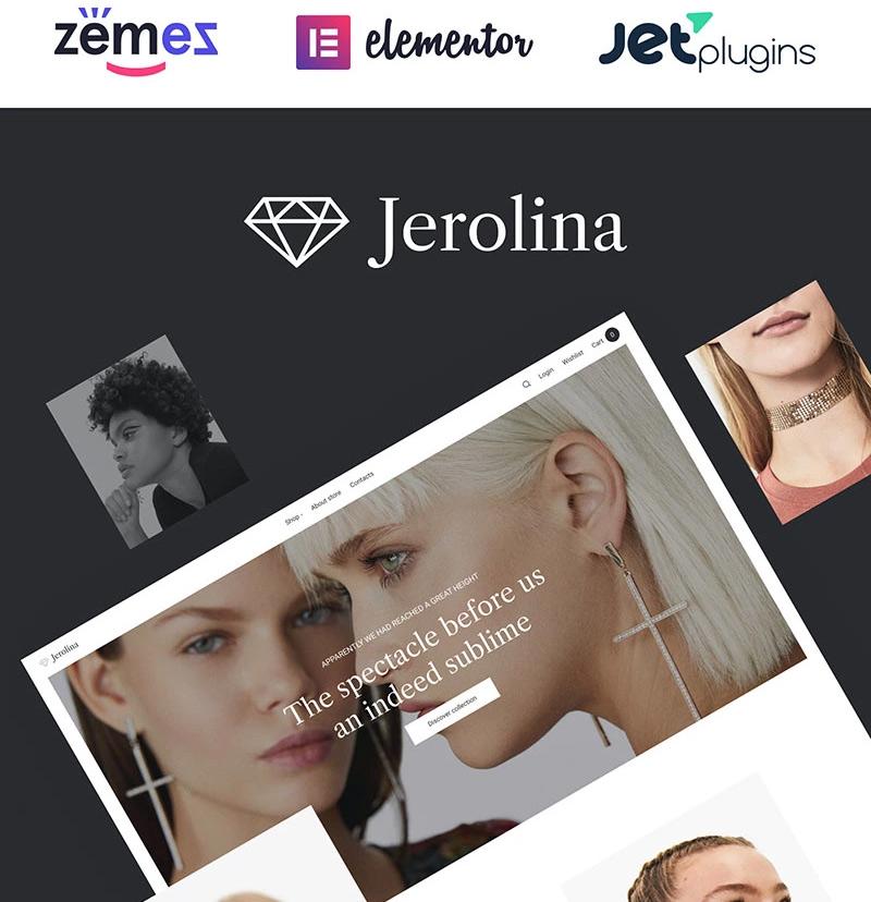 #10 Jerolina - Glossy Jewelry & Watches Online Store WooCommerce Theme