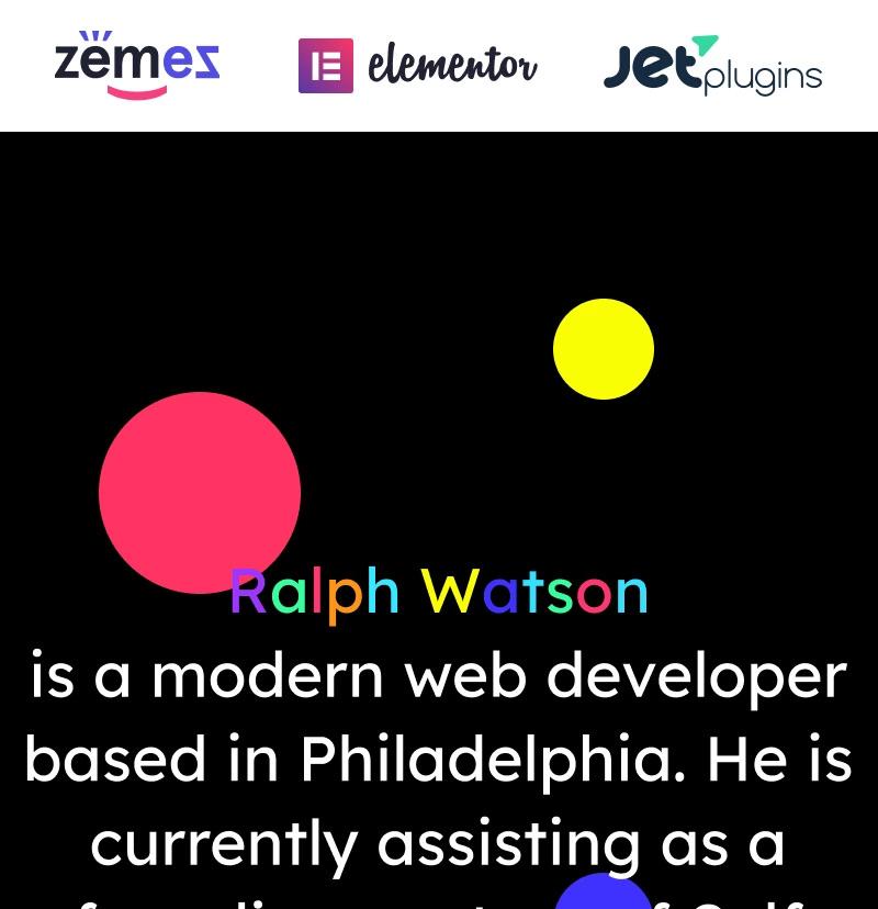 #4 Minimalistic Web Developer Portfolio