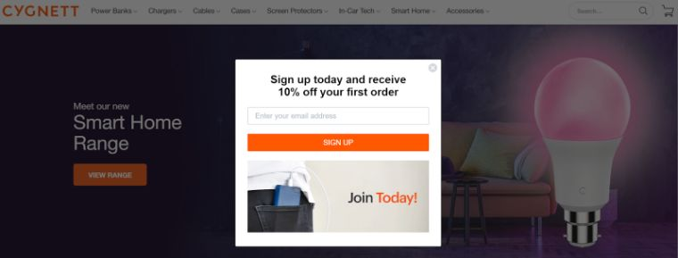 Best Popup Design Examples