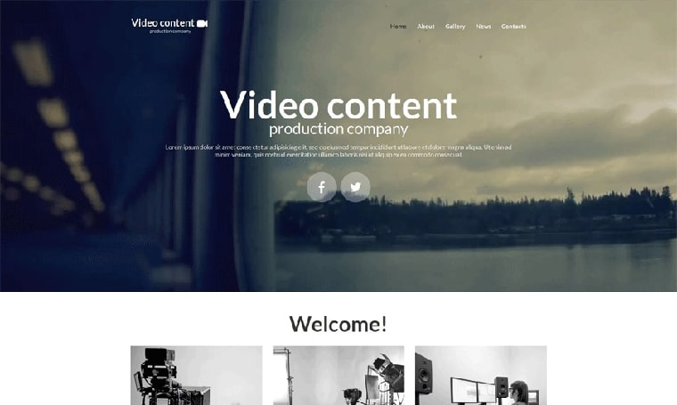 Video Lab Moto CMS HTML adult web design