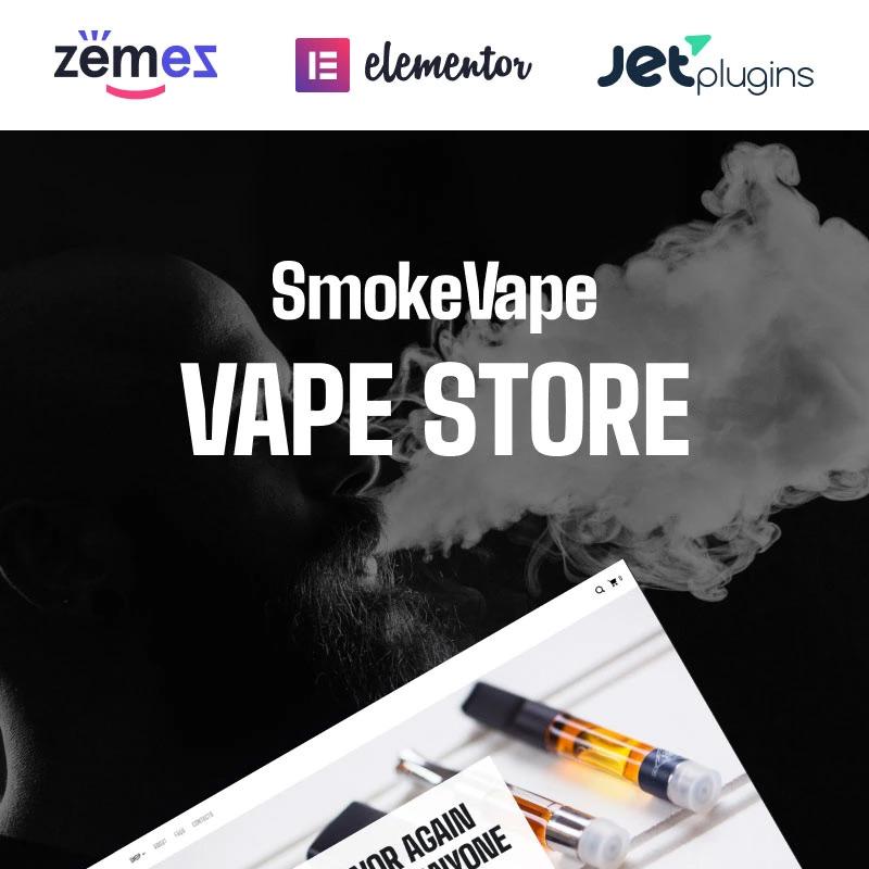 Vape Shop eCommerce Websites WooCommerce Theme