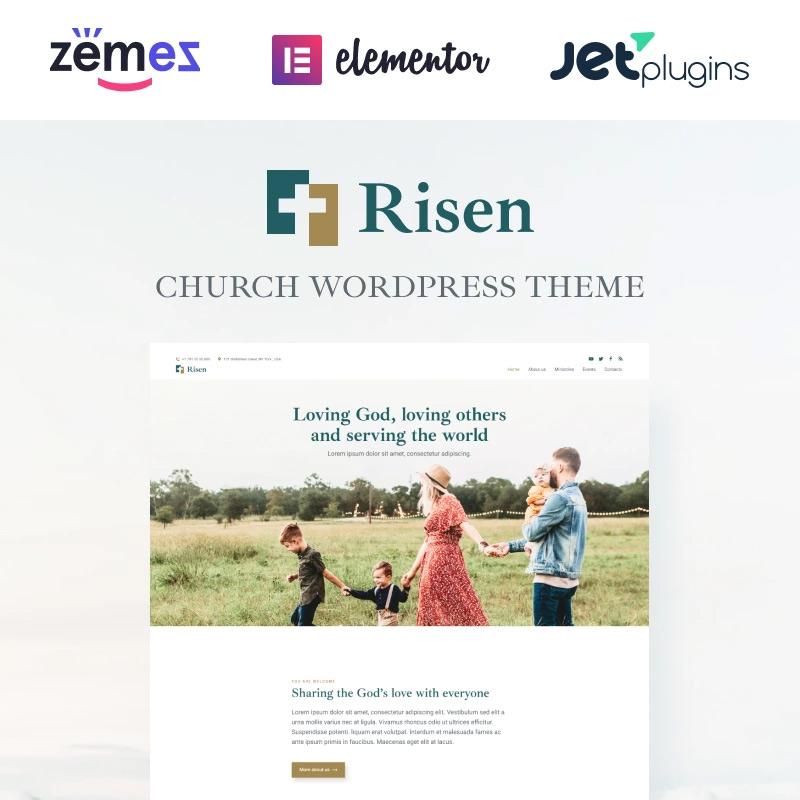 Neat WordPress Theme Church WordPress Theme