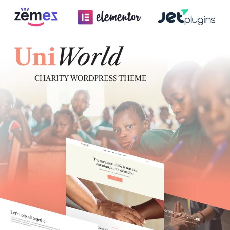 Donations Charity WordPress Theme
