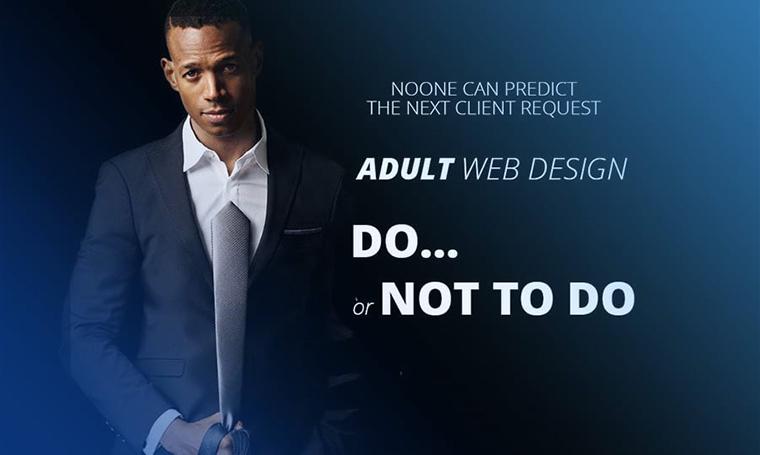 adult web design main image