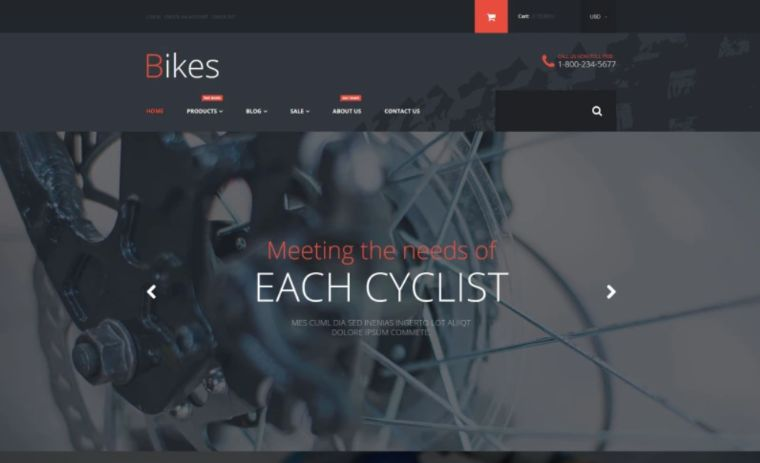 Bike Store Shopify Theme