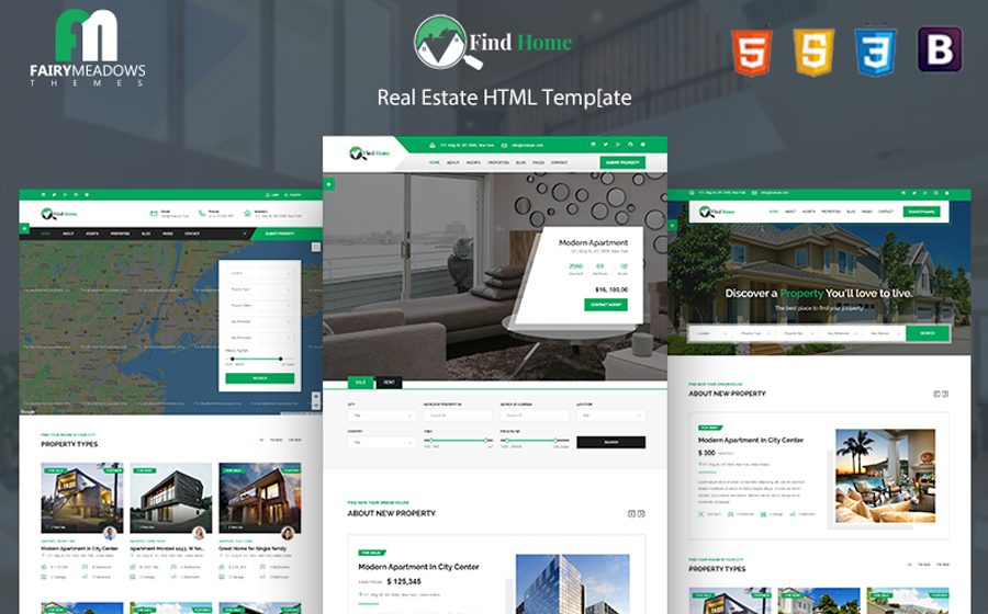 find-home-real-estate-html5-website-template