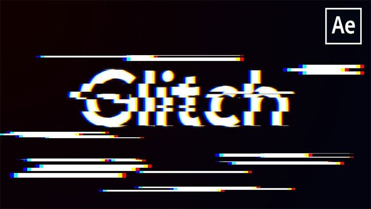 Glitch Effect After Effects Tutorial.
